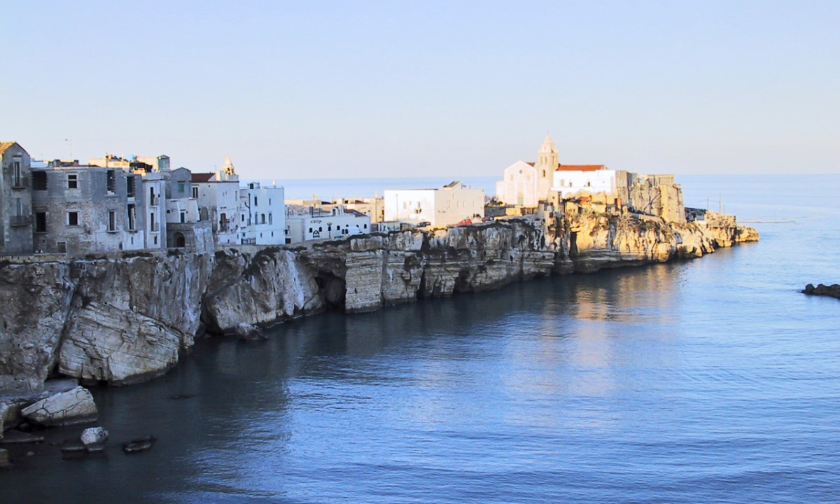 Discover Vieste and its magnific historic centre.