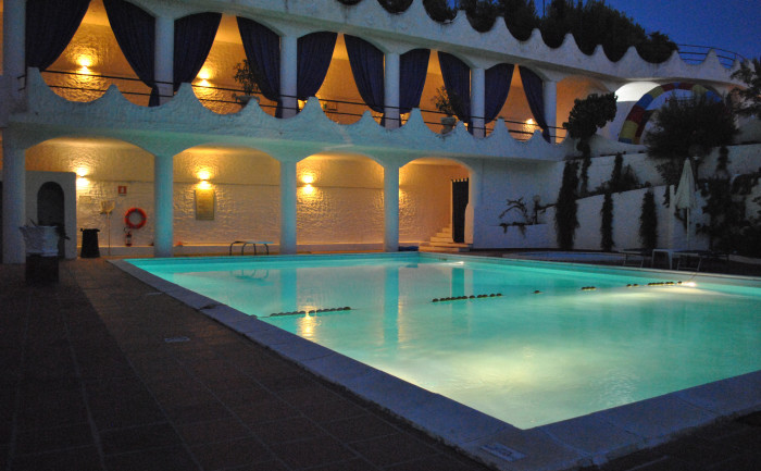 Swimming pool hotel for seaside holidays in Gargano